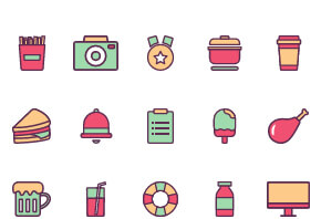 Common life icons